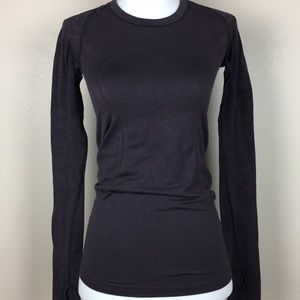 Lululemon Run Swiftly Tech Long Sleeve top